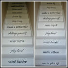 LARGE STAIRS IN THIS HOUSE RULES STAY STRONG PLAY HARD STICKER TRANSFER DECAL