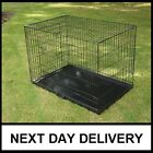 DOG PUPPY CAGES CRATES FOLDABLE CARRIERS BOWLS OPTIONAL UK SELLER