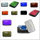 TRU VIRTU Pearl Aluminium Fold Wallet Card RFID Case Money Coin Holder Clip New