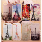 Various Hot Eiffel Tower Pattern Hard Back Cover Case Skin For iPhone 5 5S