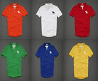 NWT Abercrombie Fitch A&F Mens Short Sleeve Henley Tee Shirt Lost Pond SMLXLXXL