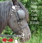 Carriage Driving Bridle Zilco Tedex -  Shetland Pony Cob Full Size