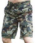 MENS CAMO BOARD SWIM SURF CARGO HOLIDAY SHORTS ALL SIZES  XS S M L XL XXL
