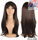 "Womens Ladies Long Straight Fancy Dress Full Hair 18""  Wig Costume Cosplay JF002"