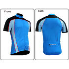 Blue Bike Cycling Outdoor Comfortable Short Sleeve Jersey Bicycle Outdoor Shirt
