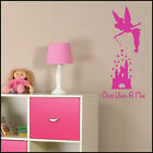 LARGE WALL STICKER WALT DISNEY CASTLE ONCE UPON A TIME TRANSFER FROM UK