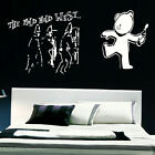 LARGE BANKSY WALL STICKER MILD WILD WEST NEW ART TRANSFER FROM UK SAME DAY