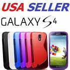 Galaxy Samsung S4 i9500 SLine TPU Thin Case Silicone Cover Cell Phone Protector