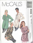 McCall's 8565  Misses' Tunics and Camisole Sewing Pattern