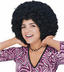 Deluxe Afro curly round costume wig male female stage theater parade dance hair