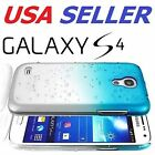 Samsung Galaxy S4 Thin Raindrop Hard Case S 4 i9500 Cover Cell Phone Protector