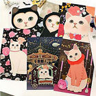 6pcs Kawaii Cats Postcard Set Paper Crafts Photo Decorative Gift Card Collage