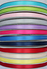 100 Yard Full Roll of 10mm Double Sided SATIN Ribbon Gift Wrapping Craft Wedding