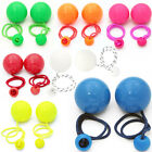 Pair of Play Contact Poi 80mm Various Colours - Pendulum Poi Spinning (Juggling)