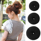 Hair Donut Bun Ring Roll Scrunchie Former Shaper Party Styler Maker Tool 1pcs