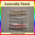 Triumph 3D Sticker Decal Badge Emblem Logo Bike ATV Quad Motorcycle Fuel Tank $4.99 AUD on eBay