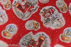 XMAS SANTA RECTANGLE VINYL PVC OILCLOTH WIPE CLEAN TABLECLOTH CO click for sizes