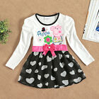 Baby Girls Kids Princess Party One-piece Dress Child Dresses Skirt Clothes #XIAO