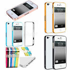 Slim Aluminium Metal Bumper Frame Phone Shell Case For Apple IPhone 4 4S 4G 4GS