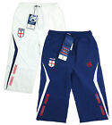 Boys England Clamdigger 3/4 Long Shorts Navy or White 2-12 yrs NEW