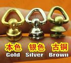 Solid BRASS CONNECTOR JOINT Medium Wallet Chain Rope Key Safety Hardware