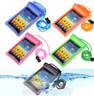 Waterproof Pouch Bag Case Cover for Samsung S5 S4 S3 Note iPhone HTC LG Sony etc
