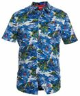 "DUKE LONDON HAWAIIN PRINT SHORT SLEEVED SHIRT ""INOA"" SIZE 1XL TO 6XL"