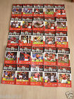 Manchester United Home Programmes 2001/02