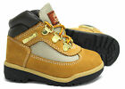 Timberland 6 Inch Field Toddlers Juniors Boots Wheat Leather Lace Up 15845/15945