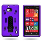 For Nokia Lumia Icon 929 Hybrid Stand Rugged Tough Protective Phone Cover Case