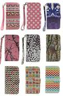 PU Leather Camo Card Holder Pouch Stand Wallet Hybrid Case For Samsung Galaxy S5