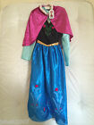 Disney Store Exclusive Frozen Anna Fancy Dress Costume All Ages NEW *LOOK*