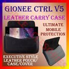 HORIZONTAL LEATHER CARRY CASE for GIONEE CTRL V5 MOBILE POUCH COVER RICH HOLDER