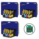 3 Sets of Compatible Printer Ink Cartridges for Brother LC123 Range
