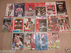 Stoke City Home programmes 1990's to 2008