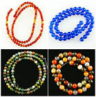 K56232 Agate ball loose beads