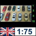 1:75/76 Scale Model Painted Cars OO gauge Train Architecture Parking Street    a