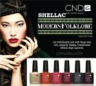 CND Shellac UV Gel Polish -Choose Any Color from MODERN FOLKLORE Collection