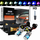 35W/55W HID Xenon Slim Digital Ballast Conversion Kit H3 Single Beam Headlights