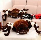 Plush toy stuffed doll spider araneid cute funny Insect pillow birthday gift 1pc