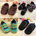 Cute Kids Boys Infant Toddler Sandals Soft Sole Crib Baby Walking Shoes 6-12M