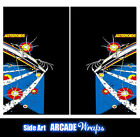 Asteroid 2 Arcade Side Art Panel Stickers Graphics / Laminated All Sizes