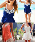 Fashion Sexy Women Outfits Lace Shorts Playsuit Summer Beach Jumpsuit Romper