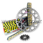 KTM SX 360 SX 1996-1997 REGINA RX3 PRO CHAIN AND RENTHAL SPROCKET KIT SILVER
