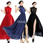 New Maxi Evening Formal Prom Ball Gown Party Cocktail Bridesmaid Slit Long Dress