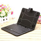 """iRulu 9"""" PU Leather Micro USB Keyboard Case With Buttons Stand Cover for Tablet"""