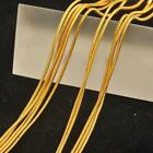 "10Pc 16-30"" Jewelry Findings 18K Yellow Gold Filled Snake Necklace GF Chain Link"