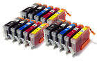 ANY 15 CLI551 & PGI550 CHIPPED Ink carts compatible with CANON PIXMA printers