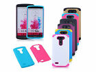 Plastic TPU Shockproof Armor Rugged Protective Shell Skin Case Cover For LG G3