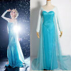 Купить Women Lady Halloween Frozen Princess Costume Cosplay Adult Elsa Fancy Dress с доставкой по россии и снг